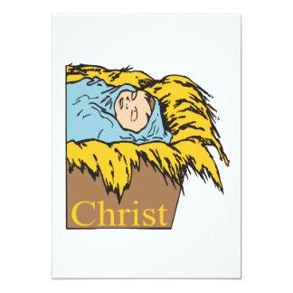 Christ 13 Cm X 18 Cm Invitation Card