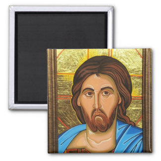 Christ Almighty Orthodox Icon Magnet