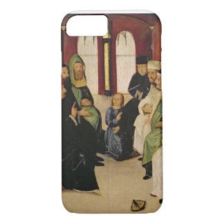 Christ Among the Doctors (oil on panel) iPhone 7 Case