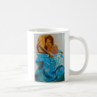 Christ and Mary Coffee Mug