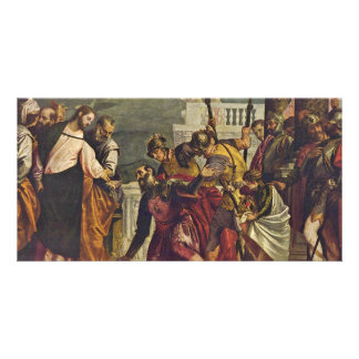 Christ And The Centurion Of Capernaum By Veronese Photo Cards