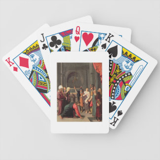 Christ and the Woman Taken in Adultery Bicycle Playing Cards