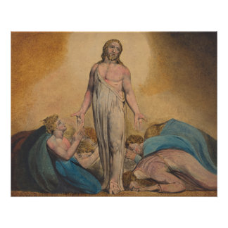 Christ Appearing to Disciples After Resurrection Poster