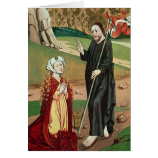 Christ Appears to Mary Magdalene Card