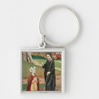Christ Appears to Mary Magdalene Keychains