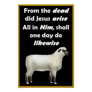 "Christ Arose - 12"" x 18"" Poster"