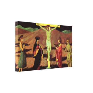 Christ At the Cross by Ucelo Gallery Wrapped Canvas