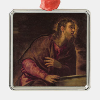Christ at the Well, c.1560 (oil on canvas) (see 50 Silver-Colored Square Decoration