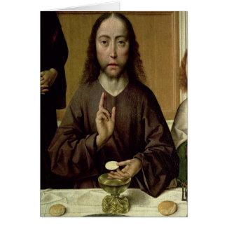 Christ Blessing 2 Card