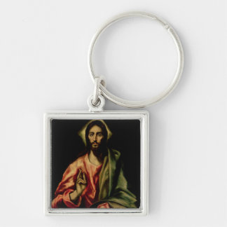 Christ Blessing Key Chains