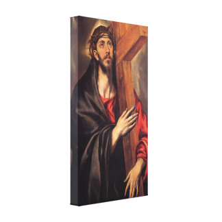 Christ Carrying the Cross  by Eugene Greco Canvas Prints