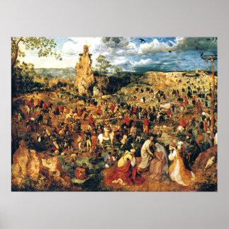 Christ Carrying the Cross Pieter Bruegel the Elder Poster