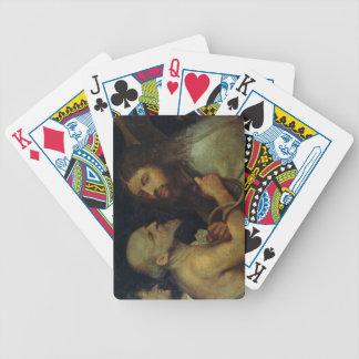 Christ Carrying the Cross Poker Deck