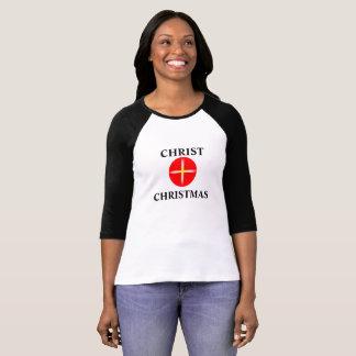 Christ Christmas t-shirt