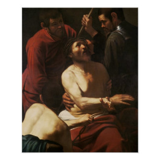 Christ Crowned by Thorns, c.1602 Poster