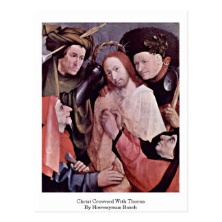 Christ Crowned With Thorns. By Hieronymus Bosch Postcard