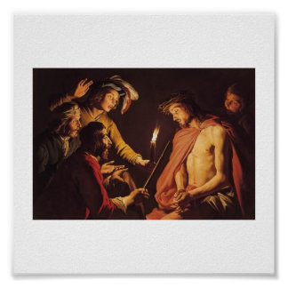 Christ Crowned with Thorns c. 1633-1639 Poster