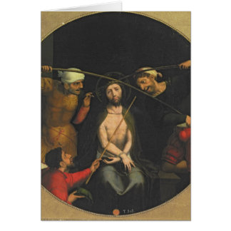 Christ crowned with Thorns Card