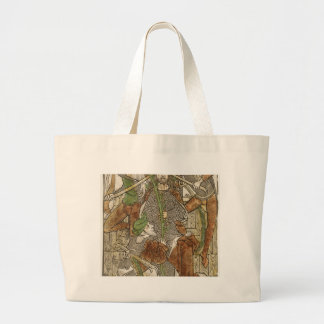 Christ Crowned with Thorns Large Tote Bag