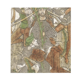Christ Crowned with Thorns Notepad