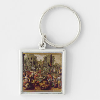 Christ displayed to the people keychain