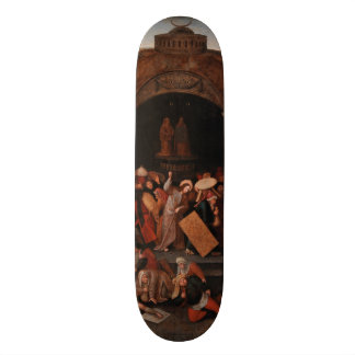 Christ Driving Traders from the Temple by Bruegel 20 Cm Skateboard Deck
