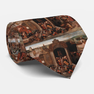 Christ Driving Traders from the Temple by Bruegel Tie