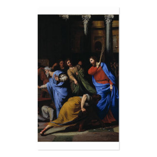 Christ Expelling the Money-Changers Business Card Templates