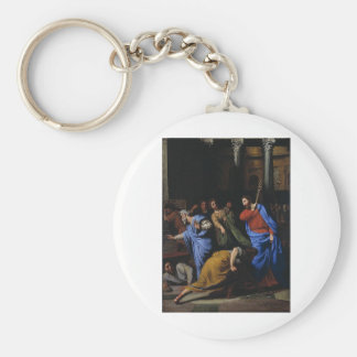 Christ Expelling the Money-Changers Keychains