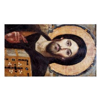 Christ Icon Jesus Prayer Business Card Template