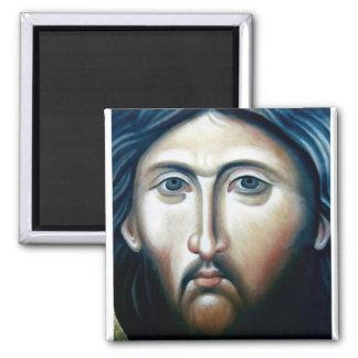 Christ Icon Magnet1 Square Magnet