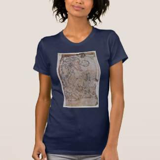 Christ In Limbo By Meister Des Cotton-Psalters (Be T Shirts