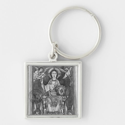 Christ in Majesty, from a Benedictional Key Chains