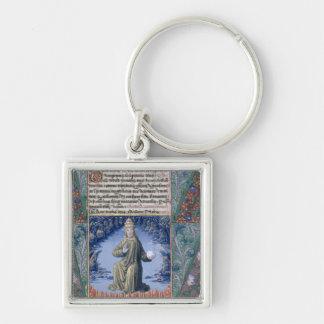 Christ in Majesty Keychain