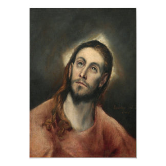 Christ in Prayer by El Greco Cards