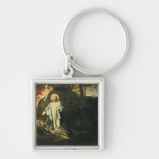 Christ in the Garden of Gethsemane 3 Keychains
