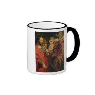 Christ Instructing Nicodemus Coffee Mugs