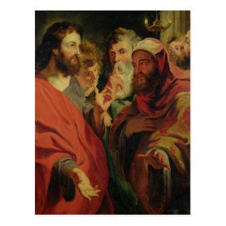 Christ Instructing Nicodemus Postcard