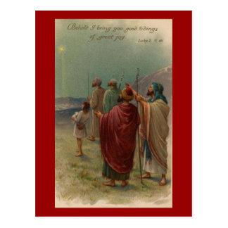Christ is Born Postcard