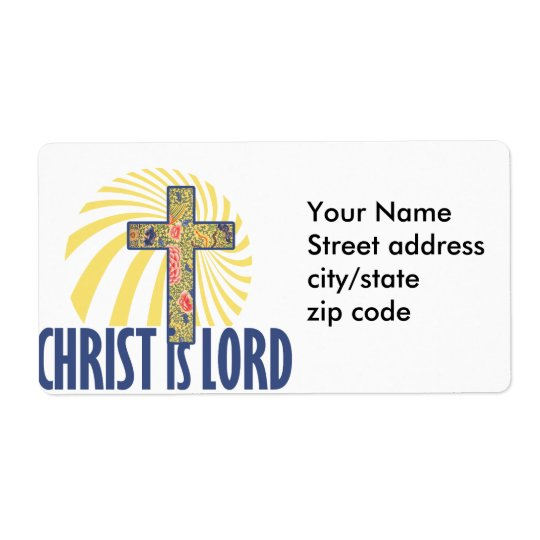 Christ is LORD