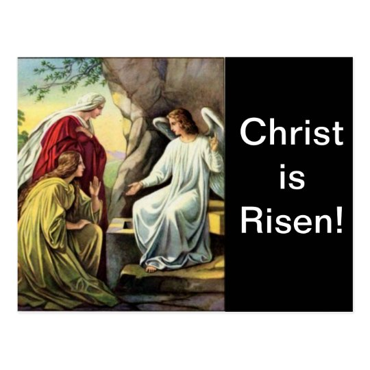 Christ is Risen, Surely He is Risen! Postcard