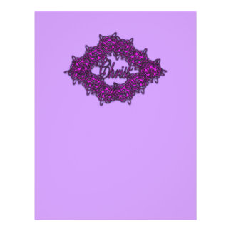 Christ is the Center - Fashion Pink Personalized Flyer