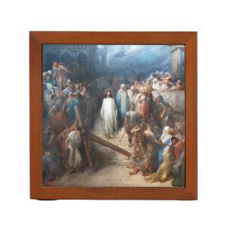 Christ Leaving Praetorium Desk Organiser