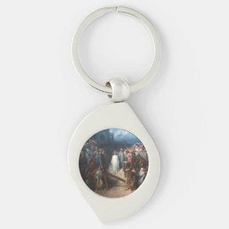 Christ Leaving Praetorium Key Ring