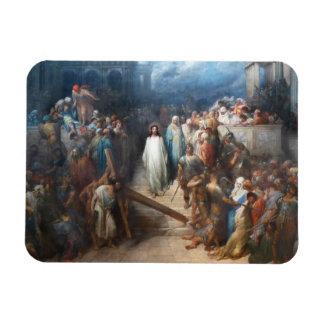 Christ Leaving Praetorium Magnet