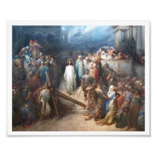 Christ Leaving Praetorium Photo Art