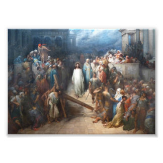 Christ Leaving Praetorium Photo Print