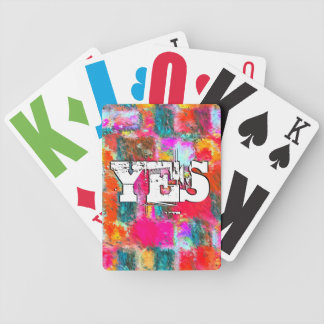 Christ Liveth In Me Bicycle Playing Cards