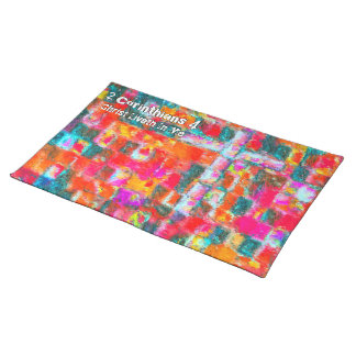 Christ Liveth In Me Placemat