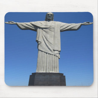 Christ of the Andes Mousepads